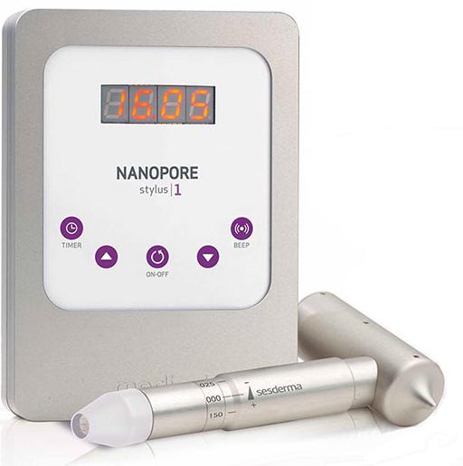 nanopore turbo roller de Sesderma en Esthetia, clínica médica estética en Oliva, Valencia