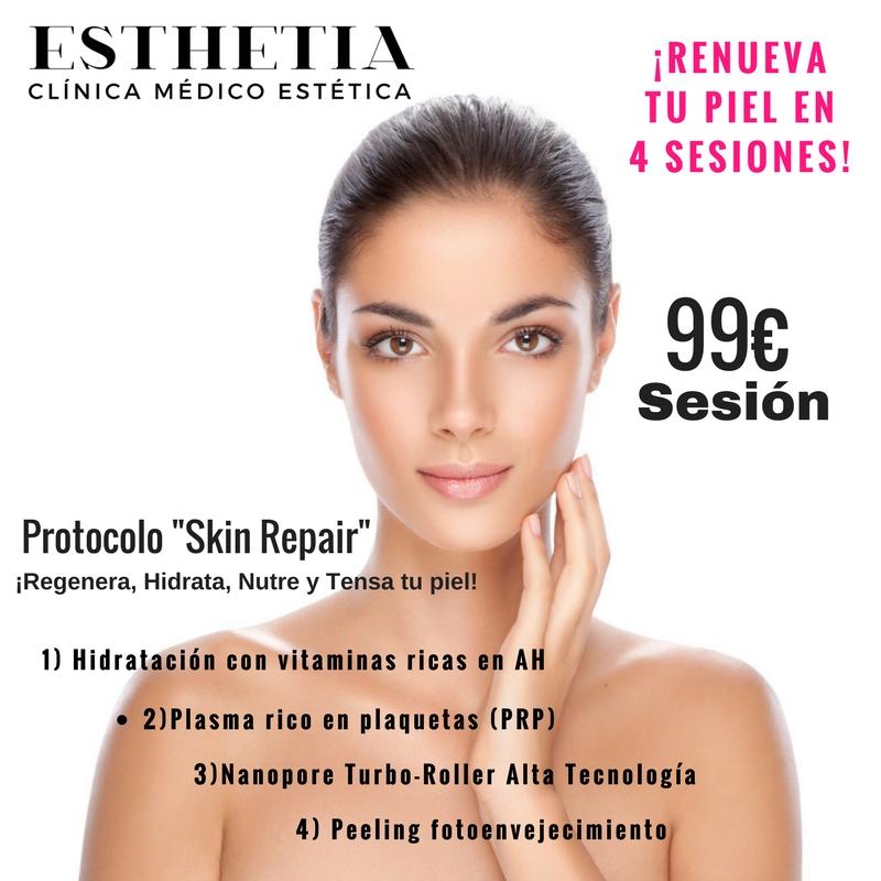 protocolo Skin Repair de Esthetia