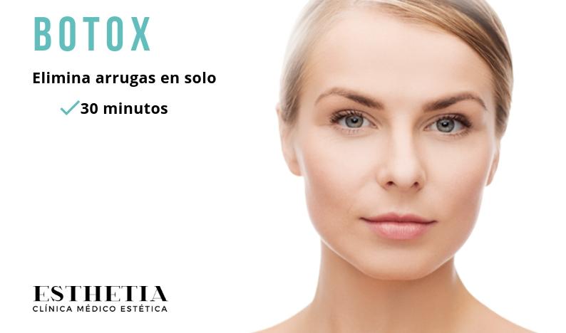 botox tratamiento eliminación de arrugas en 30 minutos