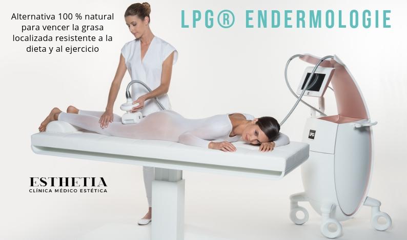 Elimina la grasa localizada con una alternativa 100% natural LPG Endermologie en Esthetia clínica medicina estética - Oliva, Valencia