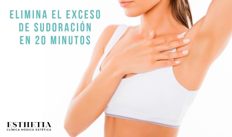 tratamiento eliminación de la sudoración excesiva mediante Botox