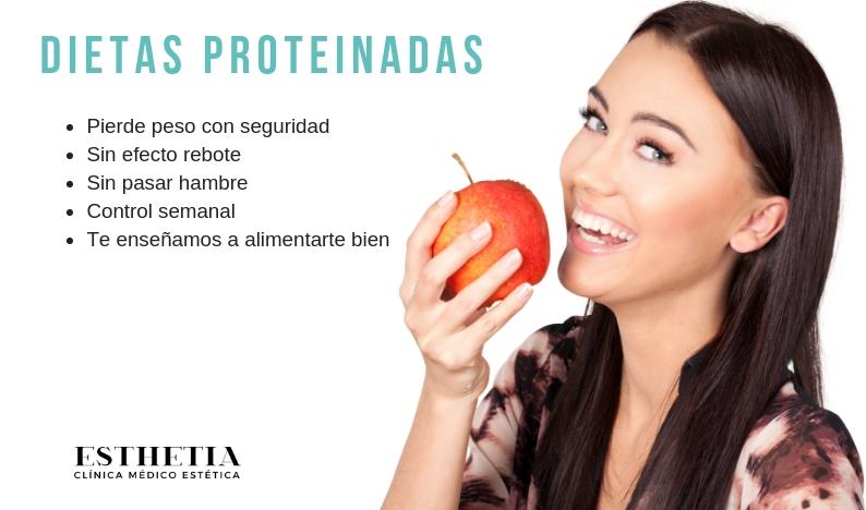 Nutrición - Dietas proteinadas para la pérdida de peso