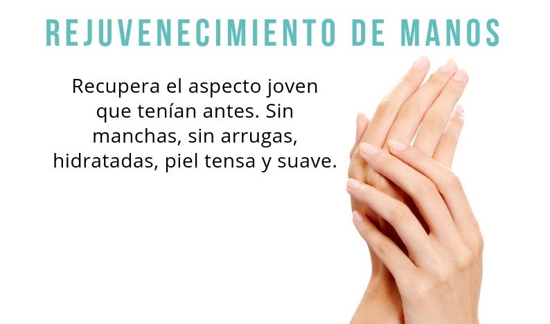 Rejuvenecimiento de manos en Esthetia Clínica de medicina estética en Oliva, Valencia
