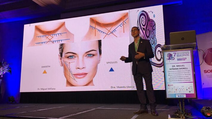 7 Simposio Internacional de estética maxilofacial - ponencia hilos PDO Dr. Miñana
